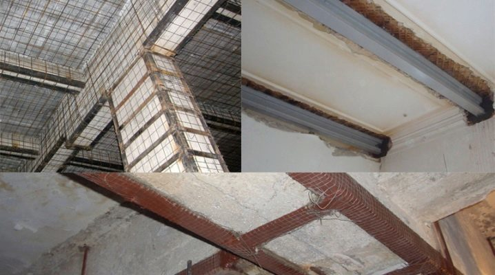 Strengthening of floor slabs: how to strengthen the solid and hollow-core slab with carbon fiber? Strengthening of reinforced concrete slabs on top and bottom. other methods
