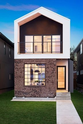 Finishing the facade of a private house (117 photos): Ideas-2019 and examples of exterior cladding, a way to decorate the outer walls of natural stone and a variety of tiling